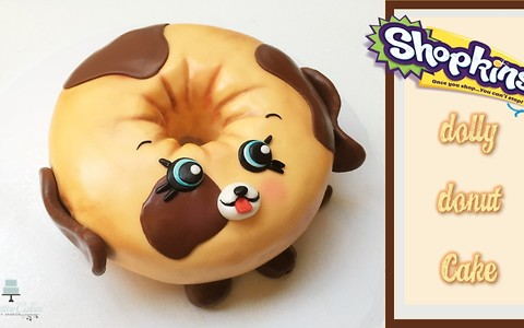 Shopkins/Petkins Dolly Donut cake: How to make from Creative Cakes by Sharon