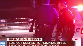Suspect captured after shooting at police