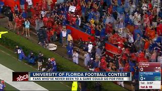 UF offering fans free first trip to The Swamp