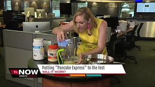 Putting Pancake express to the test - Video