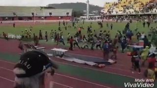 Stadium Brawl Breaks Out at Rugby Game After Referee Punched by 'Official' - Video