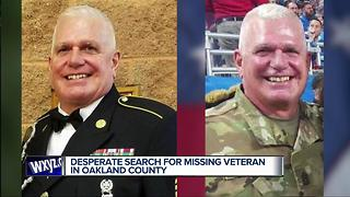 Desperate search for missing veteran in Oakland County - Video