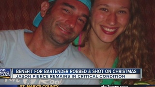 Benefit planned for Baltimore bartender robbed, shot on Christmas day - Video