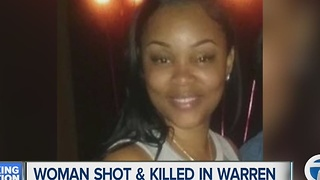 Woman shot and killed in Warren - Video