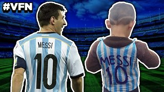 Lionel Messi To Meet Superfan! | Viral Footy News - Video