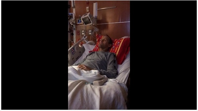 Dying Man Sings 'The Dance' From Hospital Bed - Video