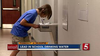 Lead Detected In Drinking Water In Metro Schools - Video