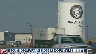 Rogers County residents hear loud boom - Video