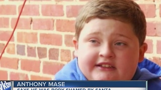 FAMILY: Santa body-shamed child