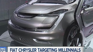 Chrysler targeting millennials - Video