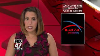 JATA offering free bus rides to cooling centers - Video