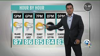 Updated Monday forecast - Video