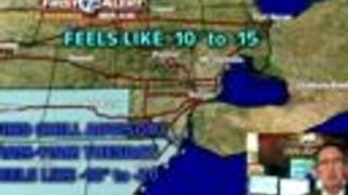 Wind Chill Advisory tonight - Video