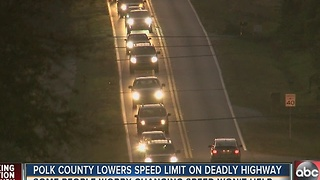 Commissioners vote to lower speed limit on deadly Polk County road - Video
