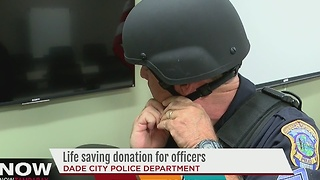 Dade City Police Department receives life saving donations - Video