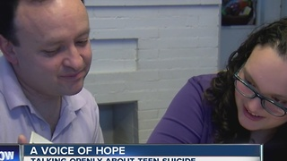 A Voice of Hope: Talking about teen suicide - Video
