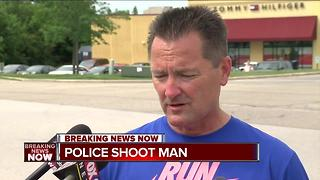 Johnson Creek shooting witness talks to TODAY'S TMJ4 - Video