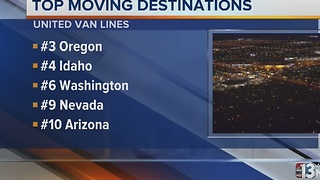 Nevada among top moving destinations, according to United Van Lines - Video