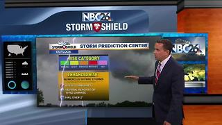 Cameron's afternoon weather update - Video