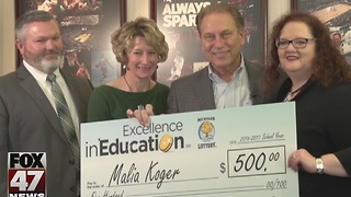 Excellence in Education: 1/17/17: Malia Koger - Video