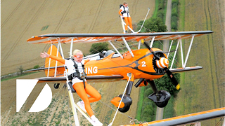Amazing 9-Year-Old Wing Walkers! - Video