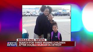 Kids missing after man, woman shot, killed inside home on Detroit's east side - Video