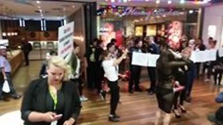 Workers Protest Lingerie Store, Claiming Sexual Harassment - Video