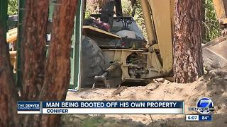 Man being booted off his own property - Video