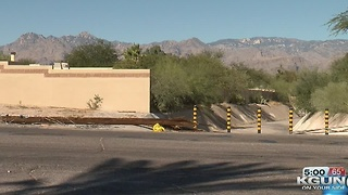 Person dies after car lands on Tucson house - Video