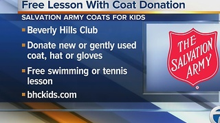 Beverly Hills Club coat drive - Video