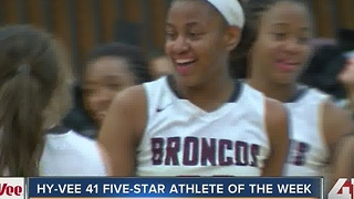 Athlete of the Week: Aaliyah Johnson - Video
