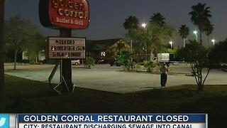 City: Restaurant discharging sewage into canal - Video