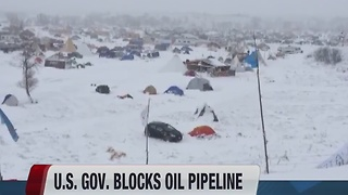 U.S. blocks Dakota pipeline - Video