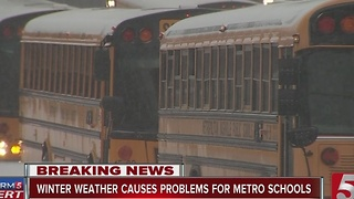 Metro Schools Defend Late Dismissal Call - Video