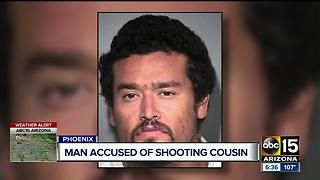 Man shoots cousin multiple times in Phoenix - Video