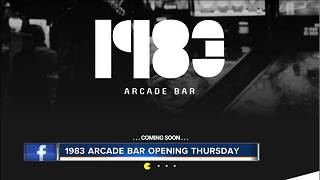 New 1983 Arcade Bar set to open this week in downtown Milwaukee - Video