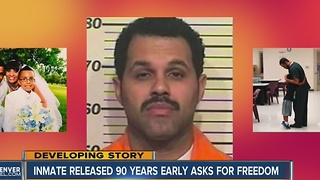 Judge mulls case: Inmate released 90 years early - Video
