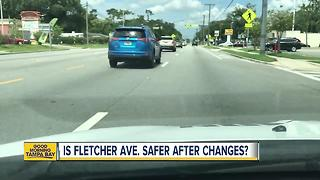 Fewer car accidents occurring on Fletcher Avenue; vehicles still hitting pedestrians and bicyclists - Video