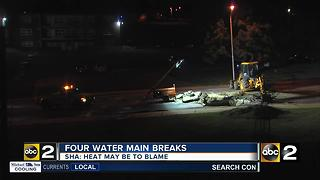 Schools closed due to Greenspring water main break - Video