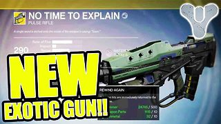 Destiny: New secret exotic gun available - Video