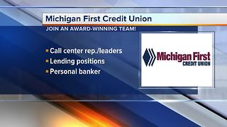 Workers Wanted: Michigan First Credit Union