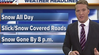 Live at Daybreak Storm Team 4cast - Video