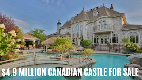 This Canadian Castle For Sale Is $4.9 Million & Each Room Is Wilder Than The Last