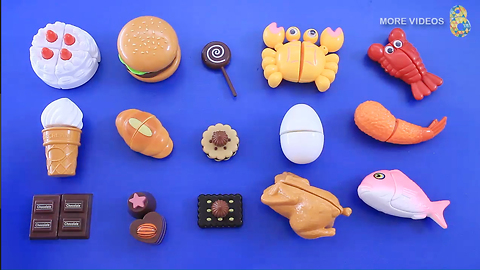 Babytv - Food - Learning Food Names for kids with Plastic Toy