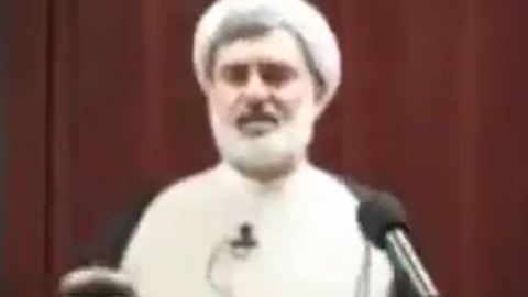Mohsen Kadivar's speech about the Iran's chief of judiciary