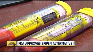 FDA approves epipen alternative - Video