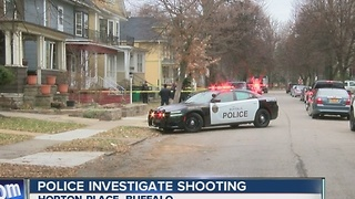 Man in serious condition after shooting - Video