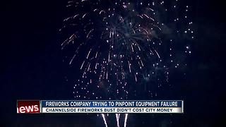 Fireworks company trying to pinpoint equipment failure - Video