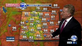 Warm and dry through the end of the work week - Video