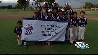 Rincon 8-10 year olds win District 12 title - Video